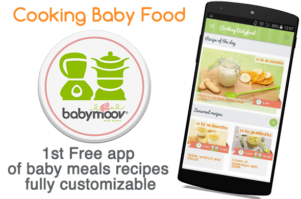 THE new « Cooking Babyfood » mobile application « Cooking ...